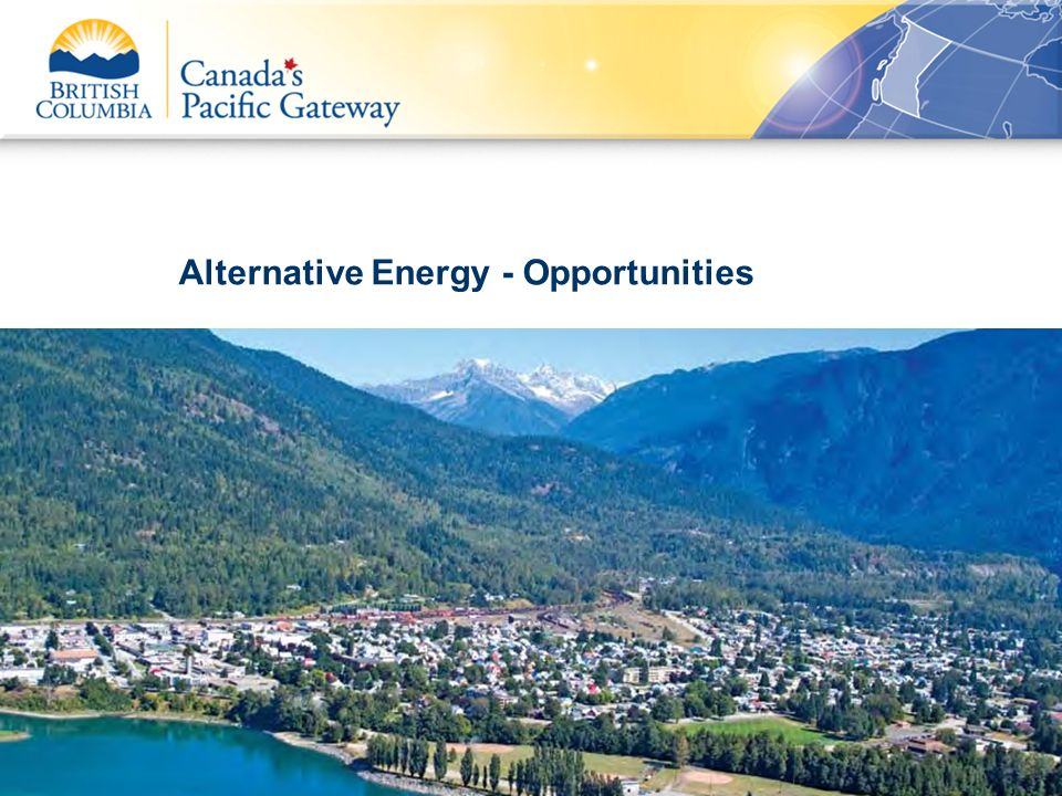 Alternative Energy - Opportunities