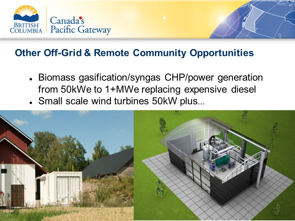 Other Off-Grid & Remote Community Opportunities