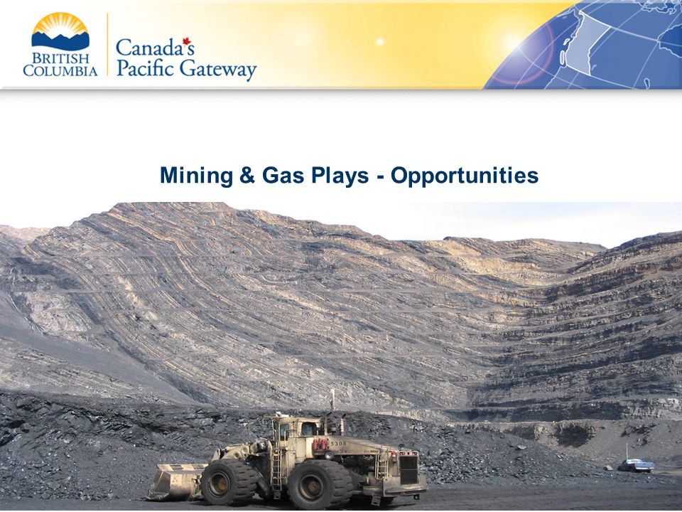 Mining & Gas Plays - Opportunities