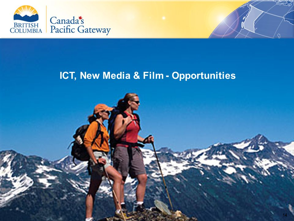 ICT, New Media & Film - Opportunities