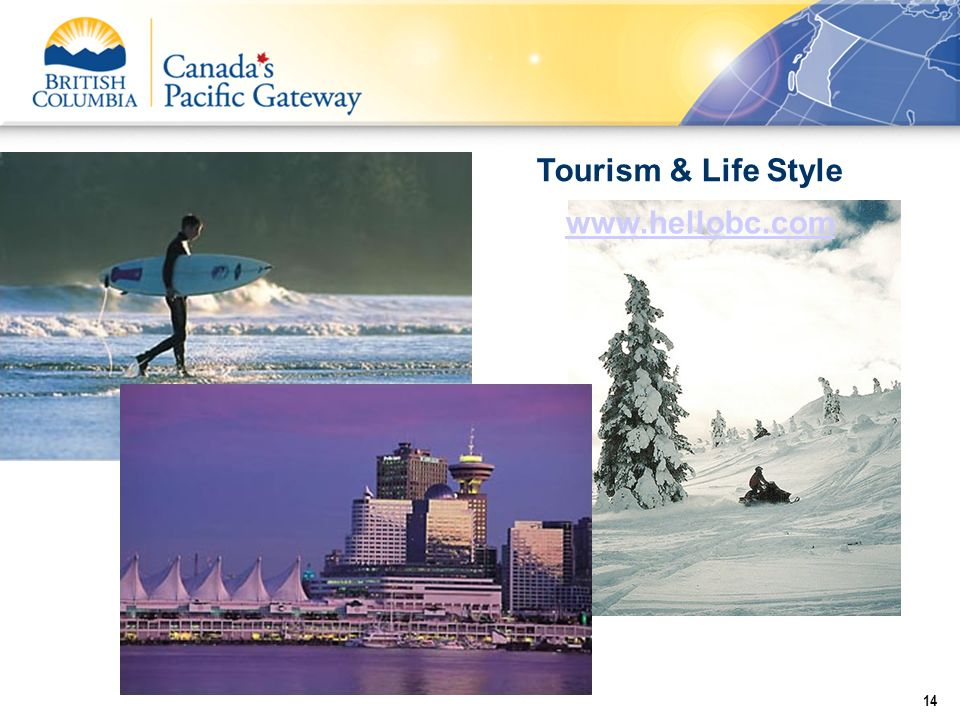 Tourism & Life Style www.hellobc.com