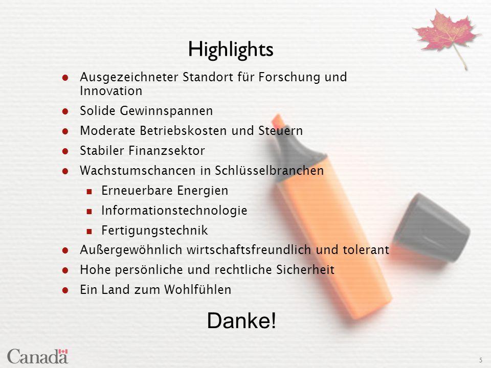 Highlights Ausgezeichneter Standort für Forschung und Innovation. Solide Gewinnspannen. Moderate Betriebskosten und Steuern.