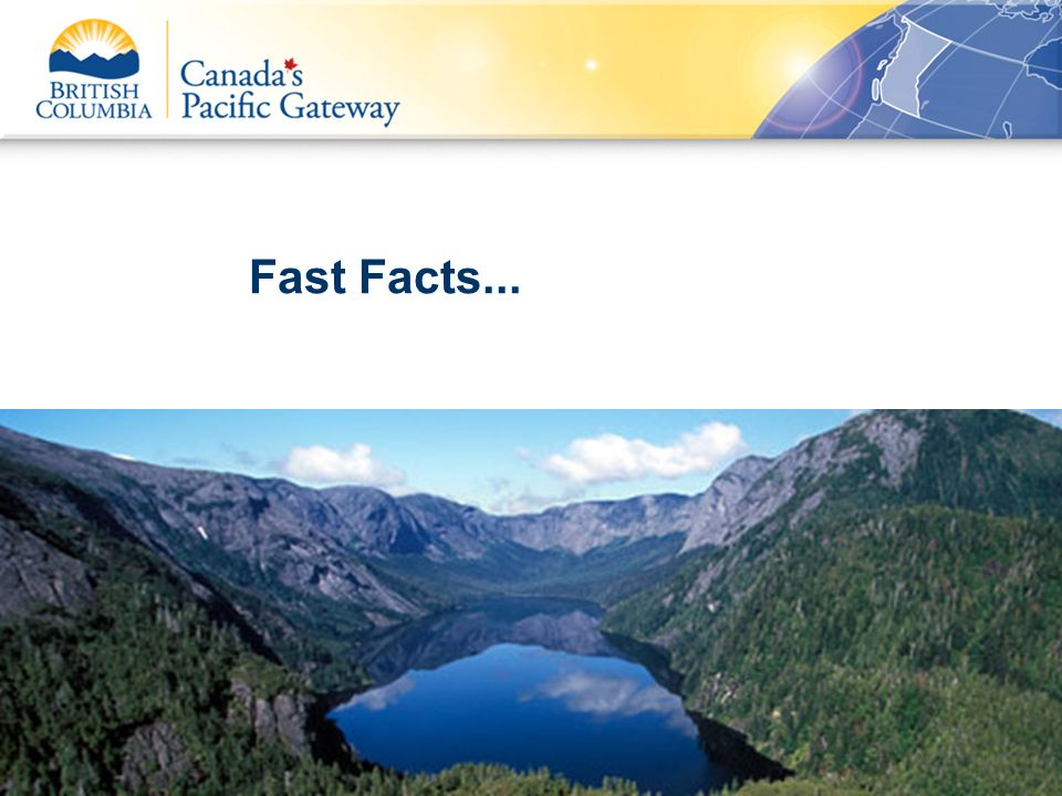 Fast Facts... 03