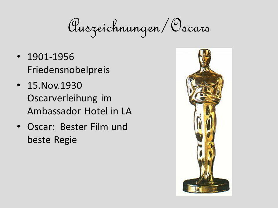 Auszeichnungen/Oscars