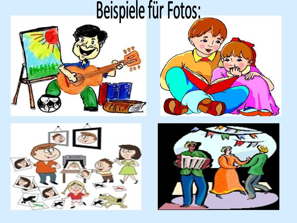 Beispiele für Fotos: