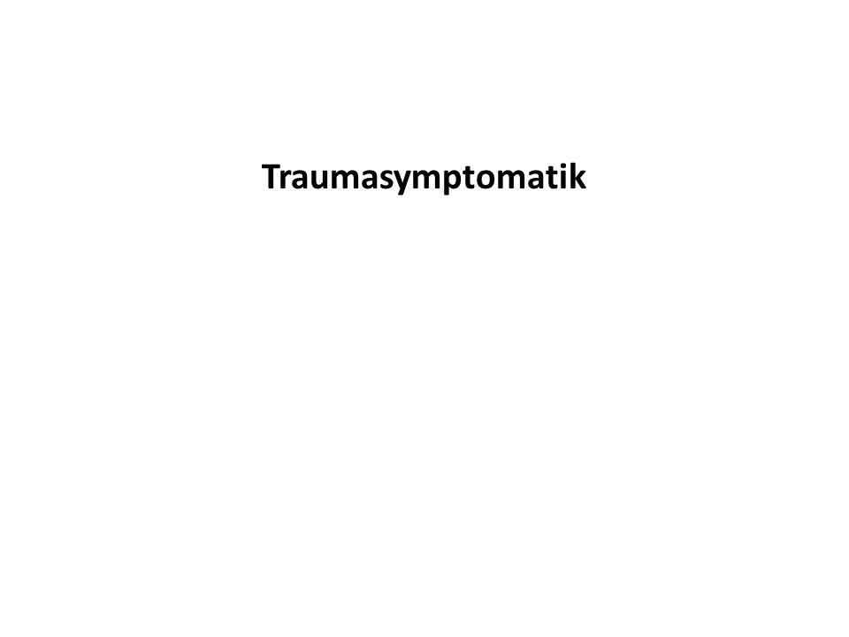 Traumasymptomatik