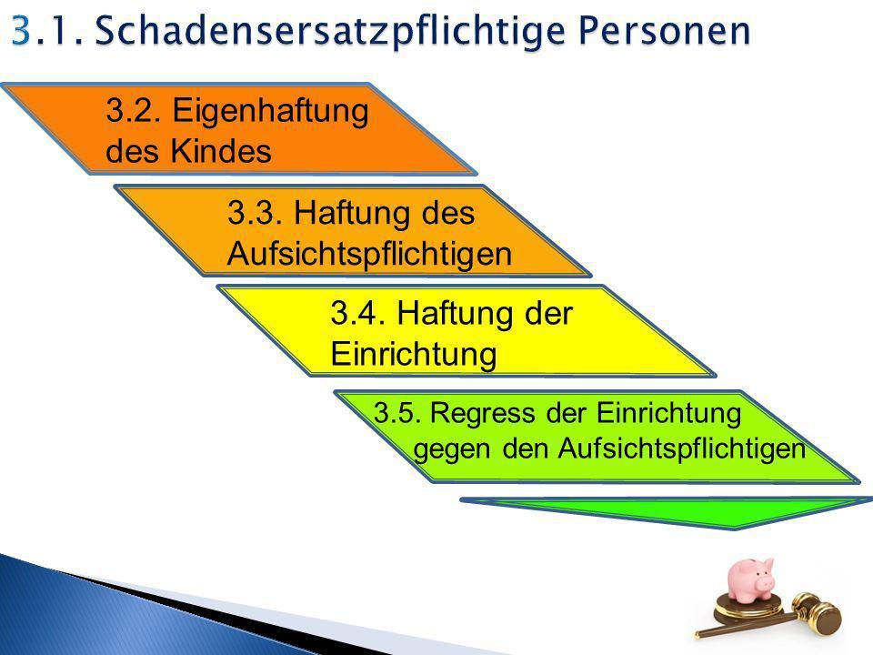 3.1. Schadensersatzpflichtige Personen