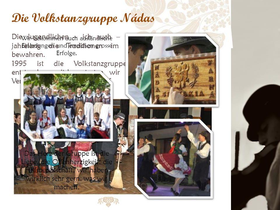 Die Volkstanzgruppe Nádas