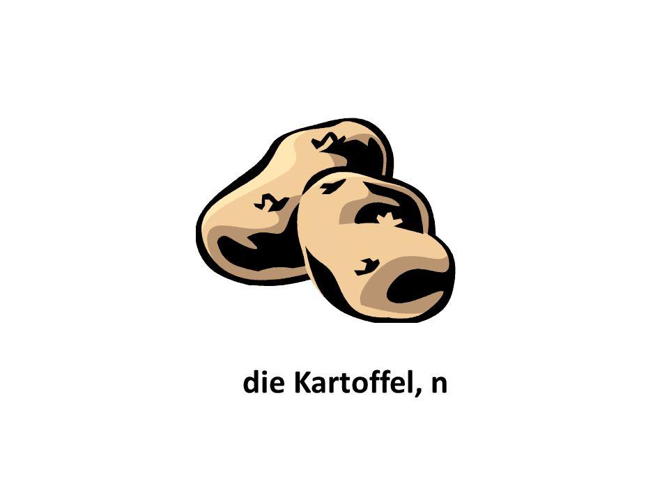 die Kartoffel, n