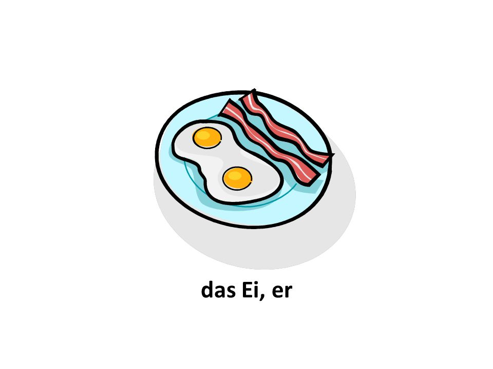 das Ei, er