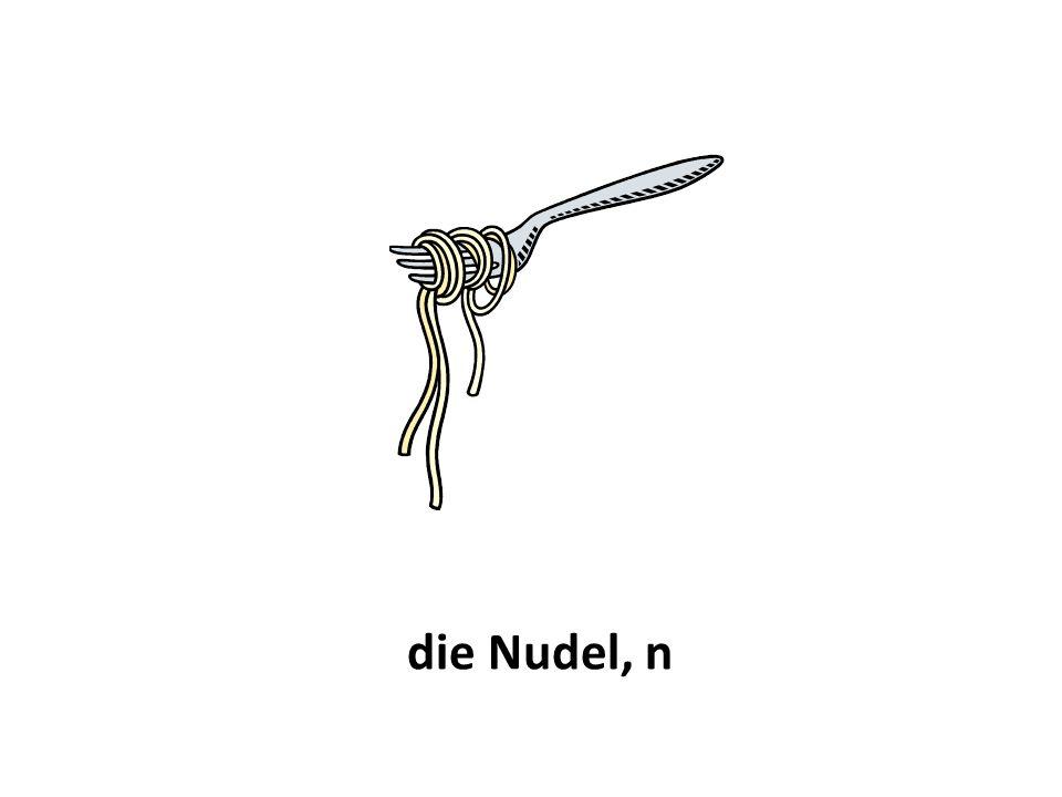 die Nudel, n