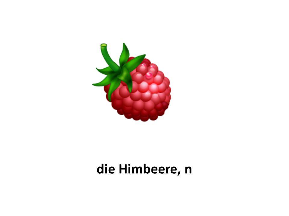 die Himbeere, n