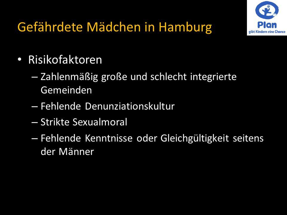 Gefährdete Mädchen in Hamburg