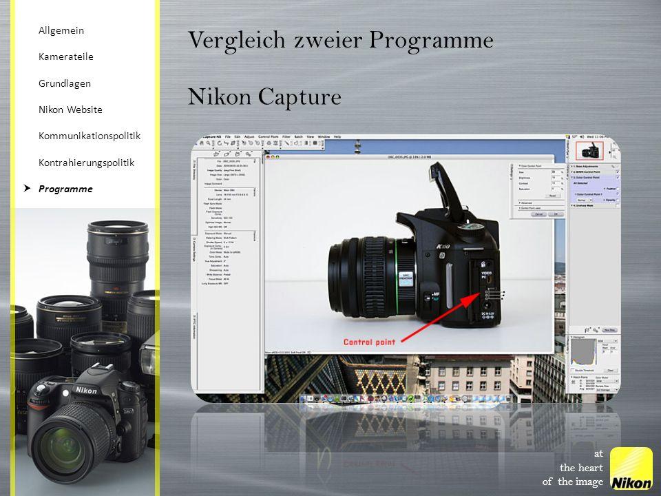 Vergleich zweier Programme