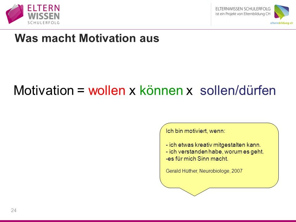 Was macht Motivation aus