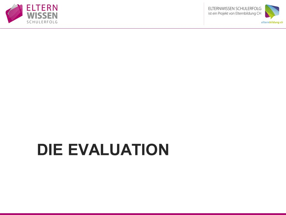 Die Evaluation