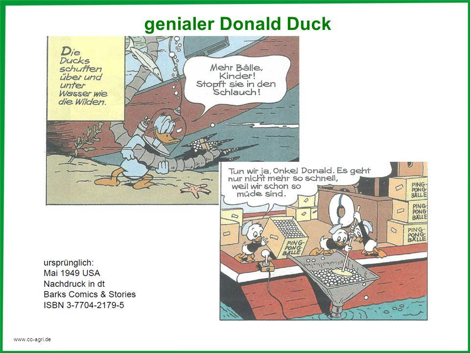 genialer Donald Duck