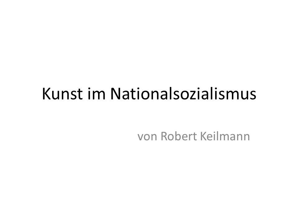 Kunst im Nationalsozialismus