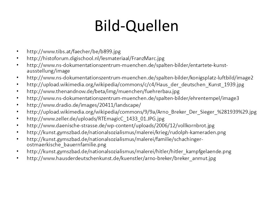 Bild-Quellen http://www.tibs.at/faecher/be/b899.jpg