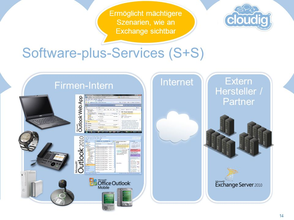 Software-plus-Services (S+S)