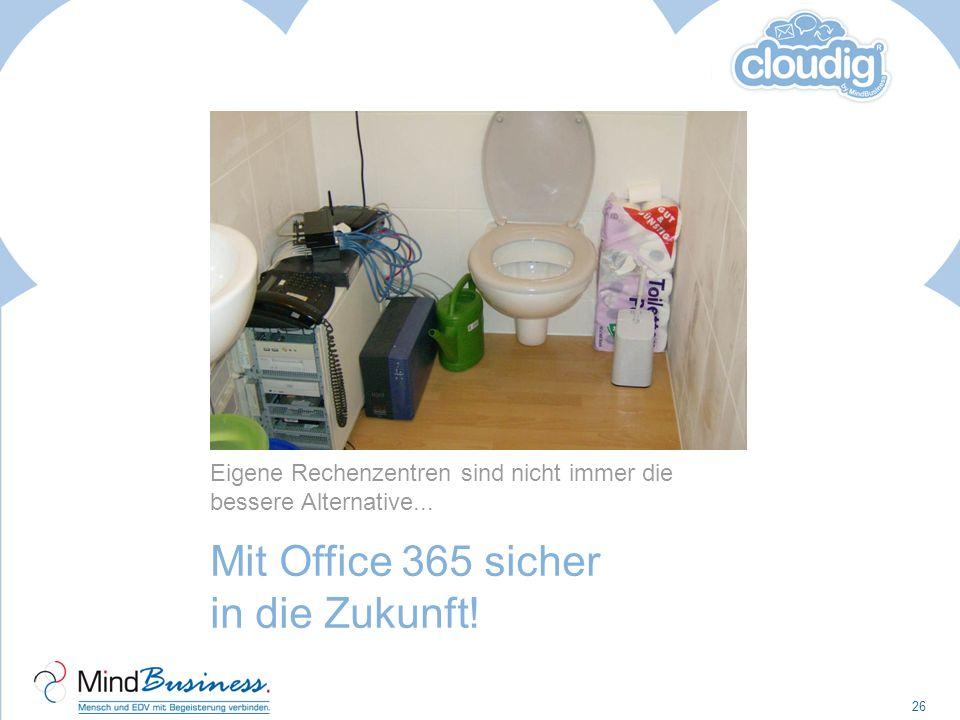 Mit Office 365 sicher in die Zukunft!