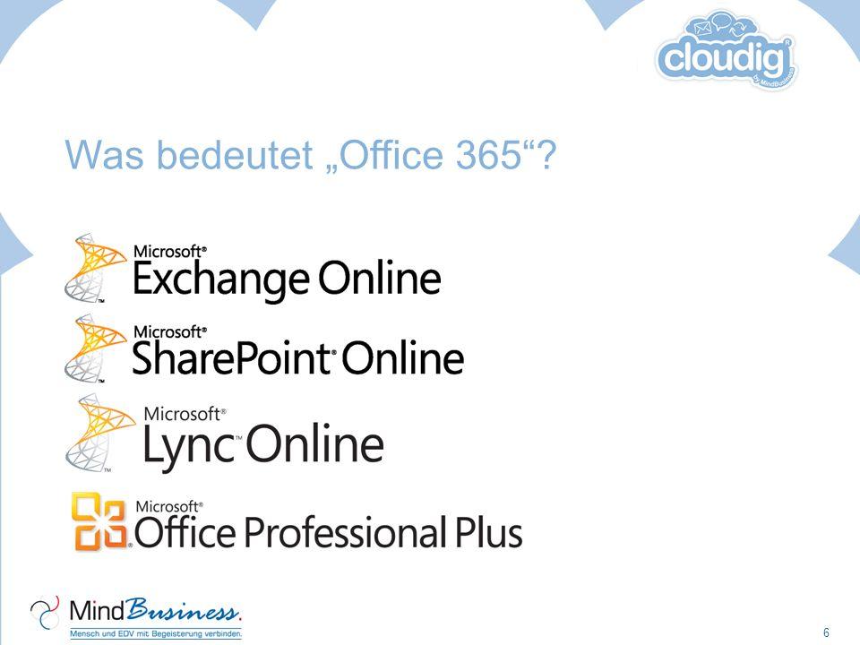 """Was bedeutet """"Office 365 Neueste Techniken zur Optimierung von Kommunikation und Zusammenarbeit:"""