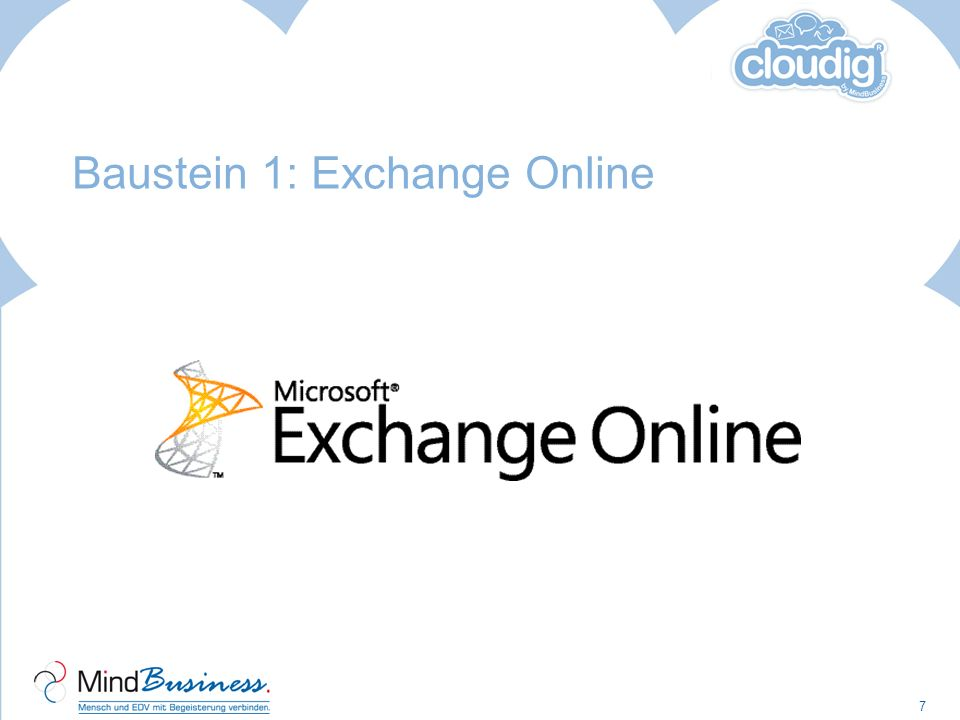 Baustein 1: Exchange Online