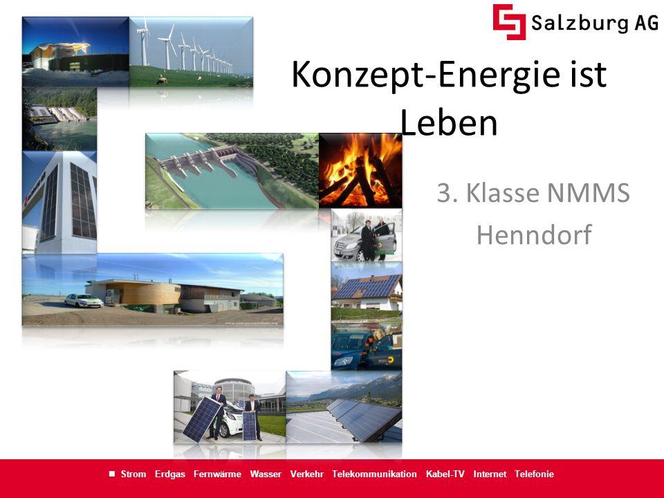 Konzept-Energie ist Leben