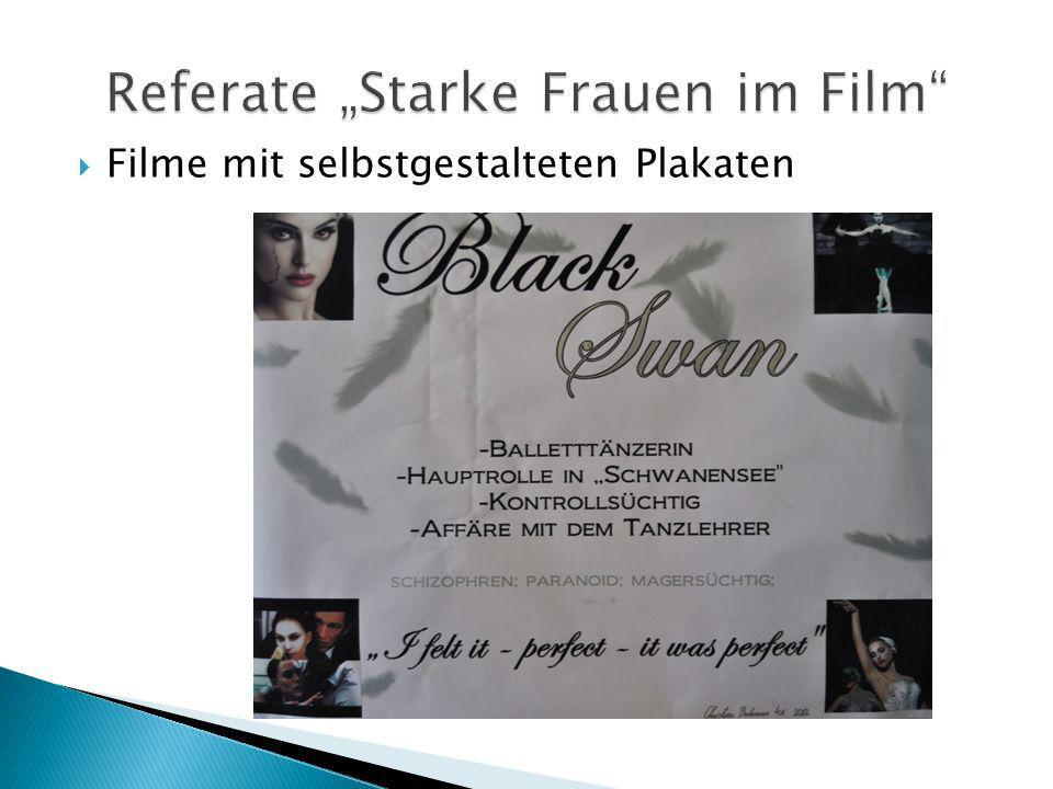 "Referate ""Starke Frauen im Film"