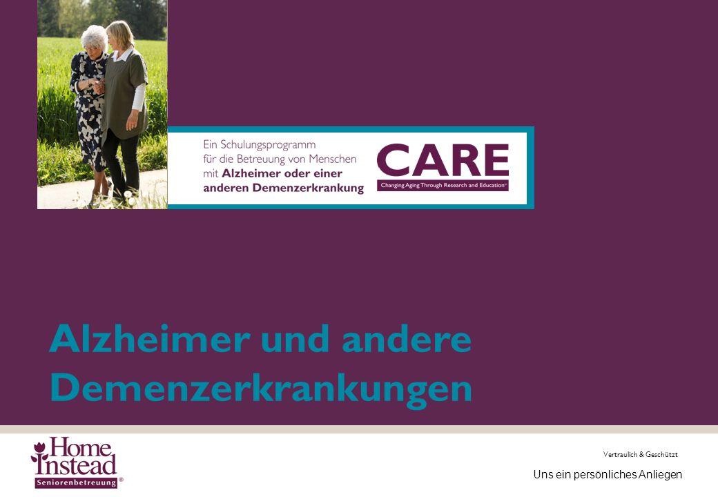 Alzheimer und andere Demenzerkrankungen
