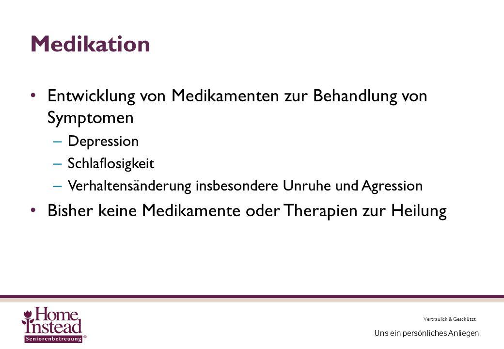 Medikation Entwicklung von Medikamenten zur Behandlung von Symptomen