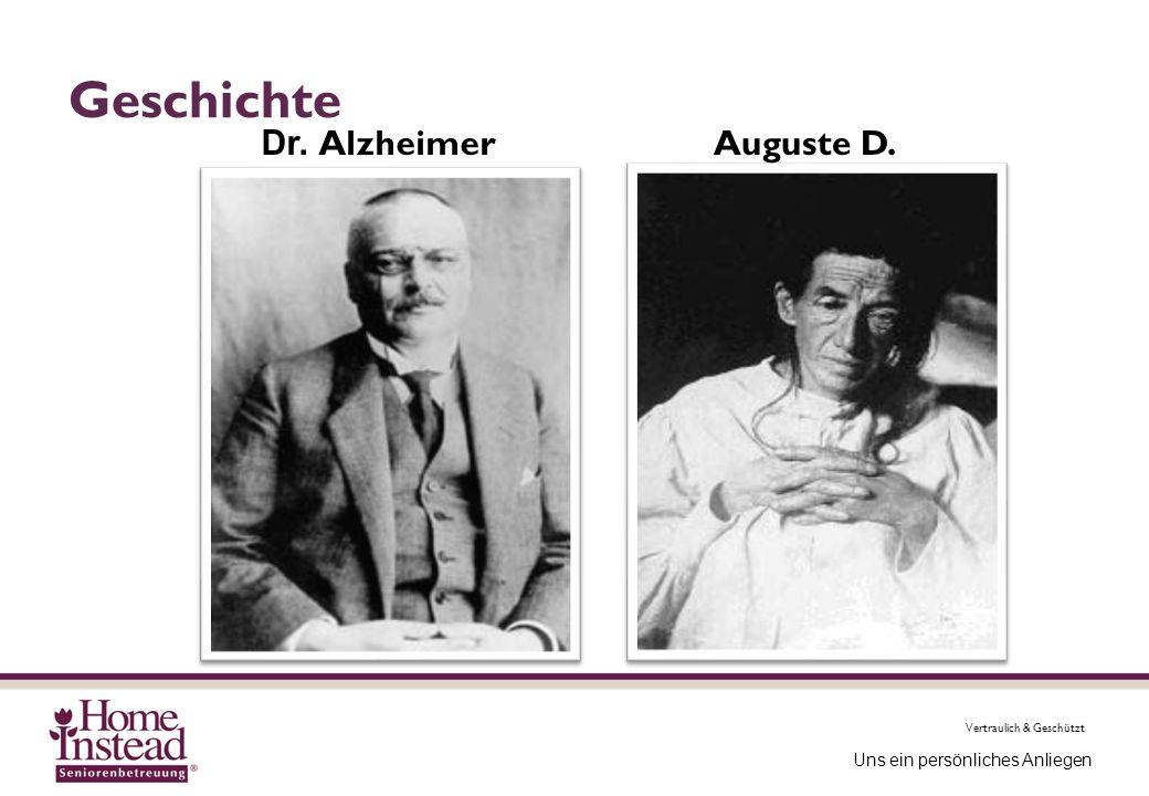 Geschichte Dr. Alzheimer Auguste D.