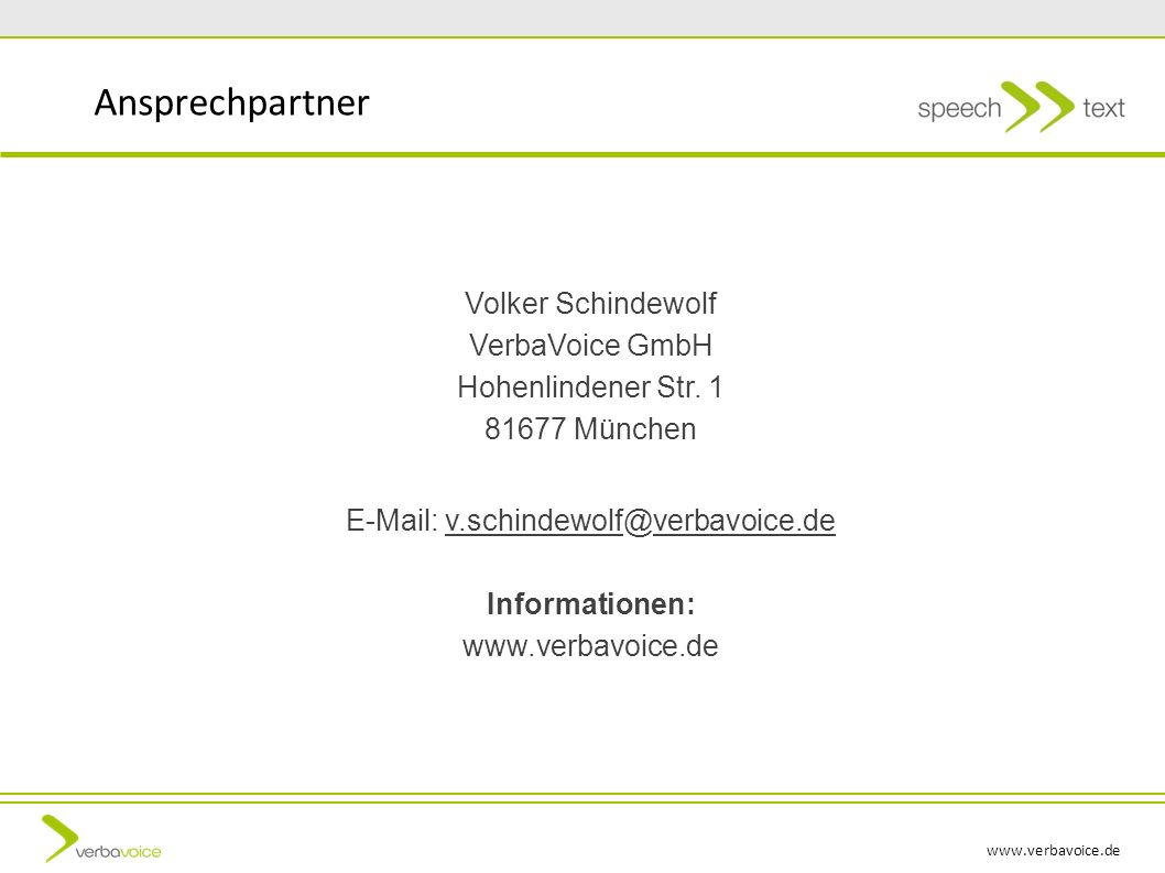 E-Mail: v.schindewolf@verbavoice.de