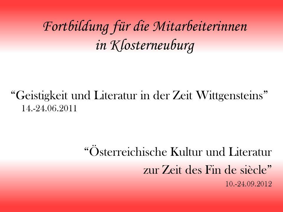 Fortbildung für die Mitarbeiterinnen in Klosterneuburg
