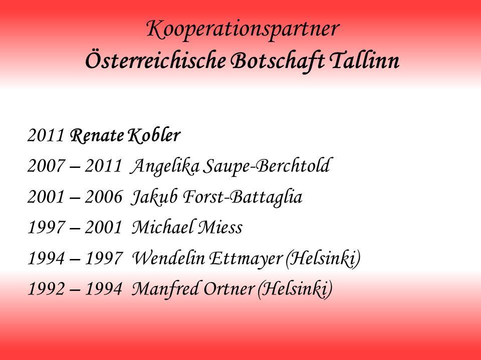 Kooperationspartner Österreichische Botschaft Tallinn