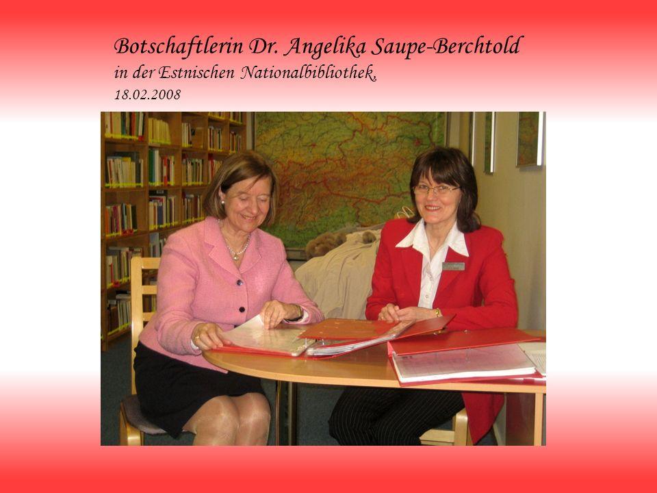 Botschaftlerin Dr. Angelika Saupe-Berchtold