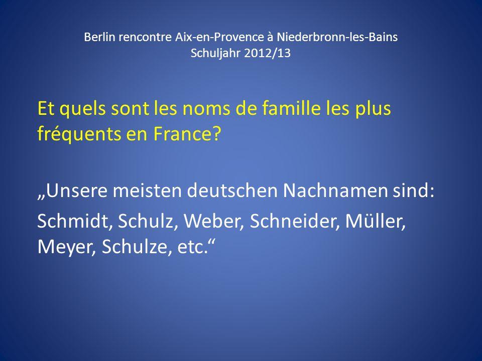 Et quels sont les noms de famille les plus fréquents en France