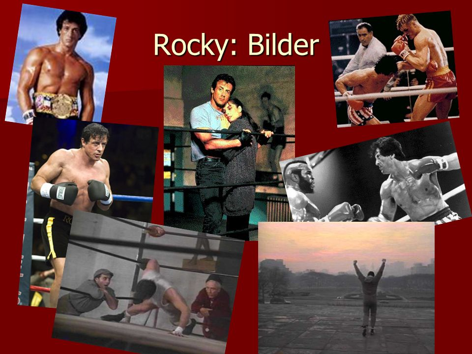 Rocky: Bilder