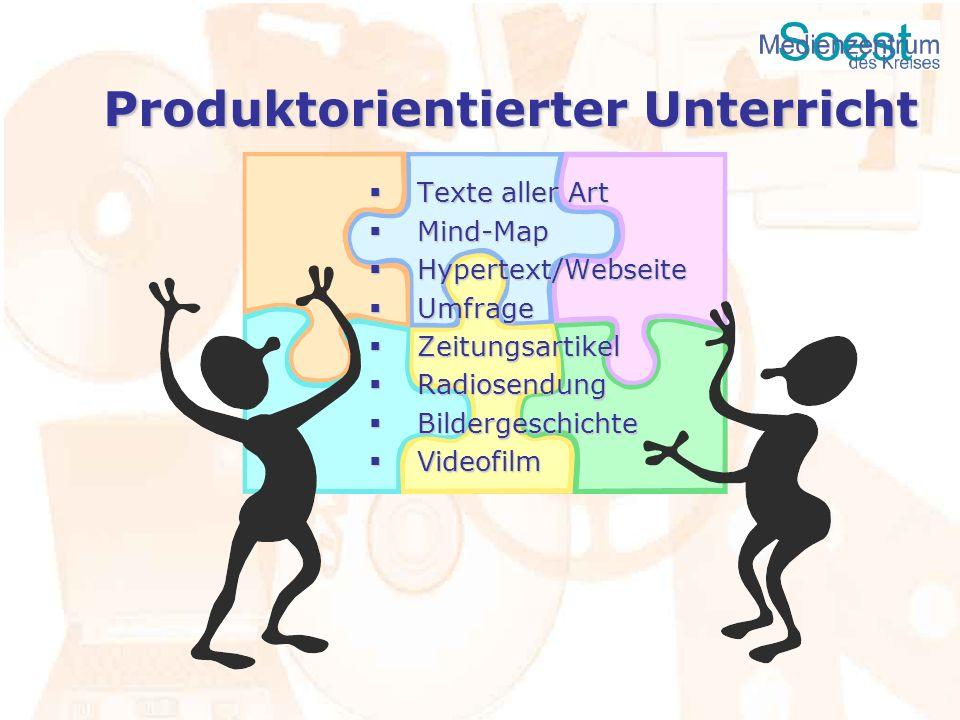 Produktorientierter Unterricht