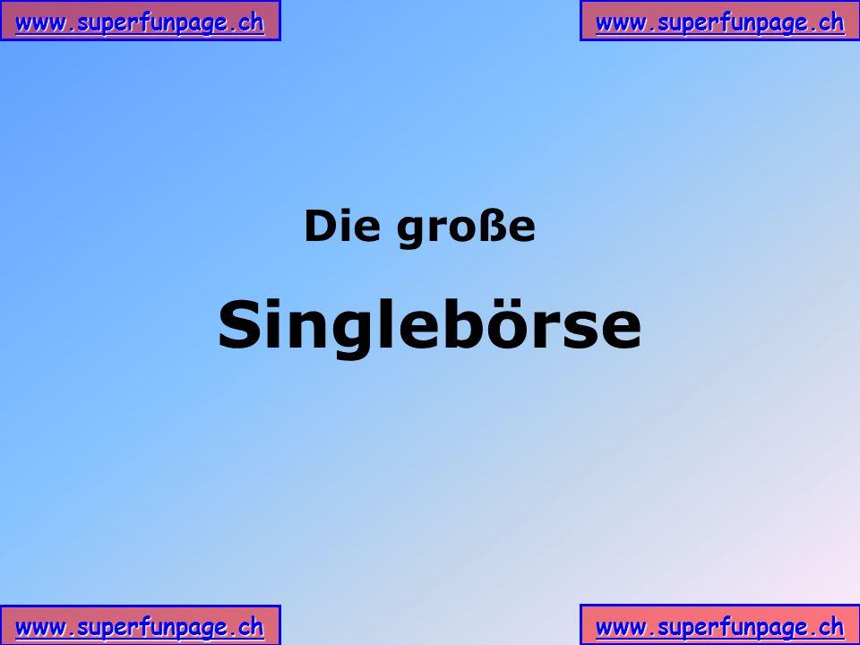 Die große Singlebörse