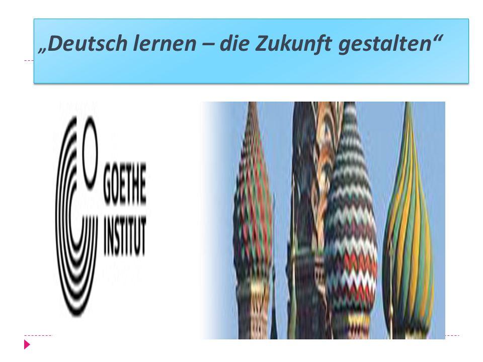 """""""Deutsch lernen – die Zukunft gestalten"""