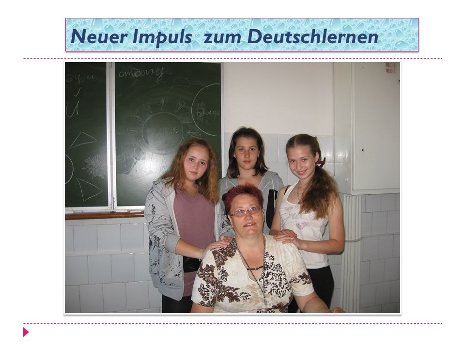 Neuer Impuls zum Deutschlernen