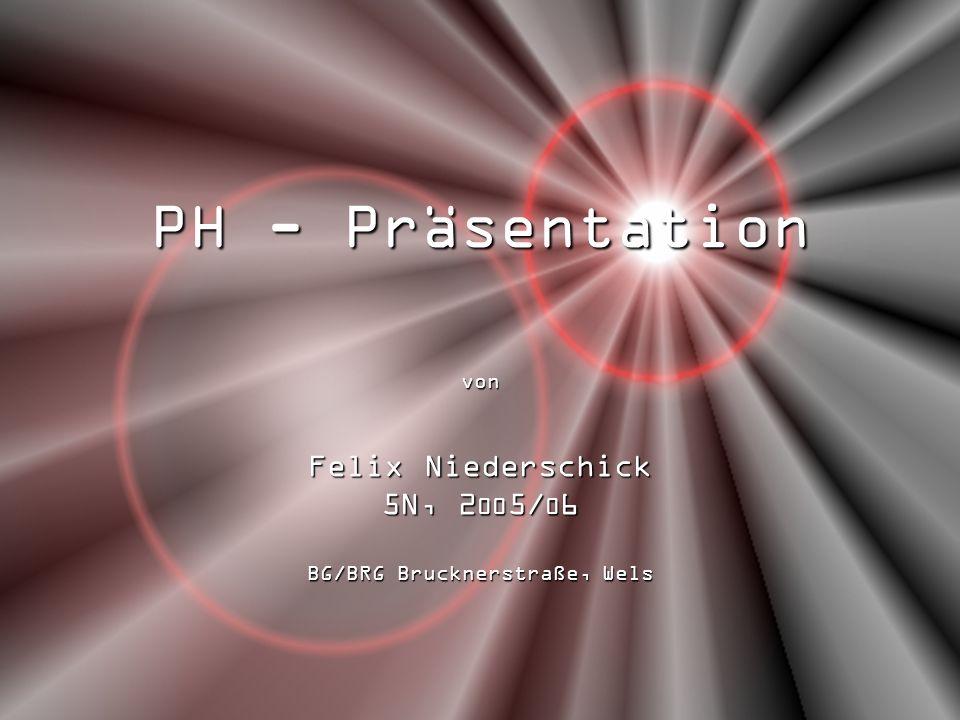 von Felix Niederschick 5N, 2005/06 BG/BRG Brucknerstraße, Wels
