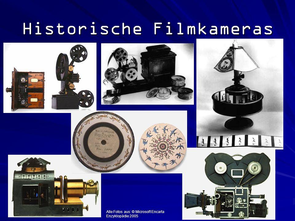 Historische Filmkameras