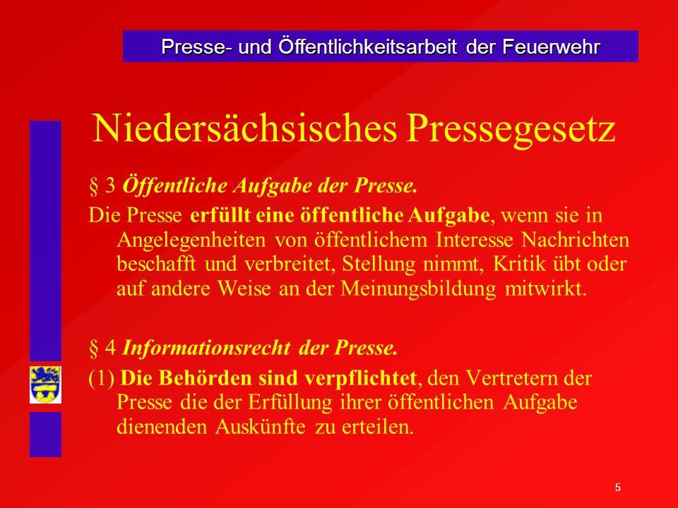Niedersächsisches Pressegesetz