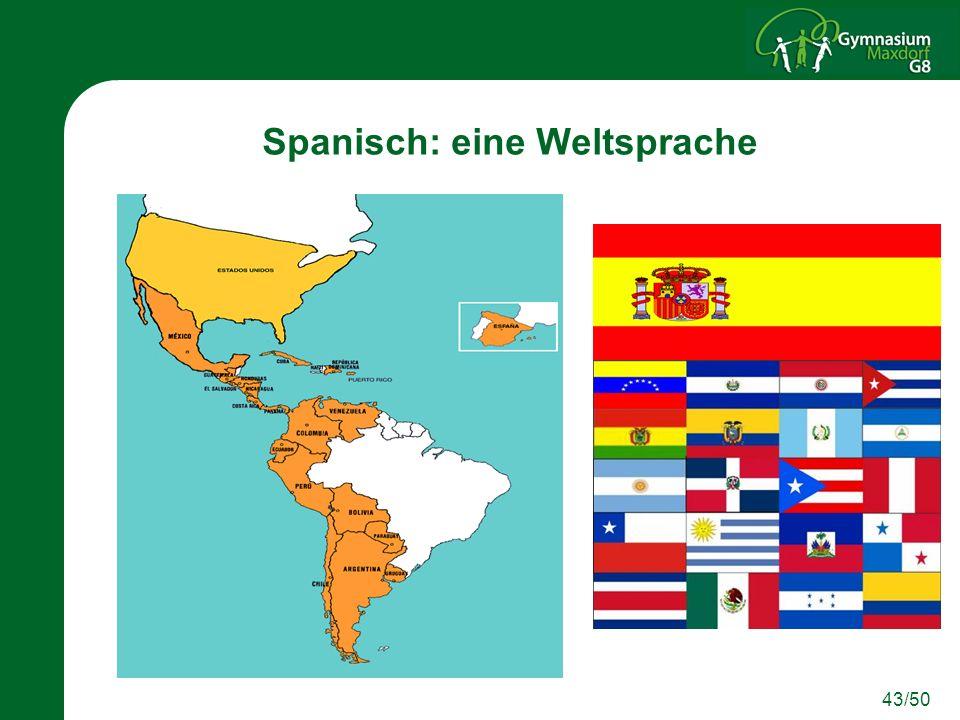 Spanisch: eine Weltsprache