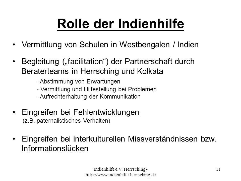 Indienhilfe e.V. Herrsching - http://www.indienhilfe-herrsching.de