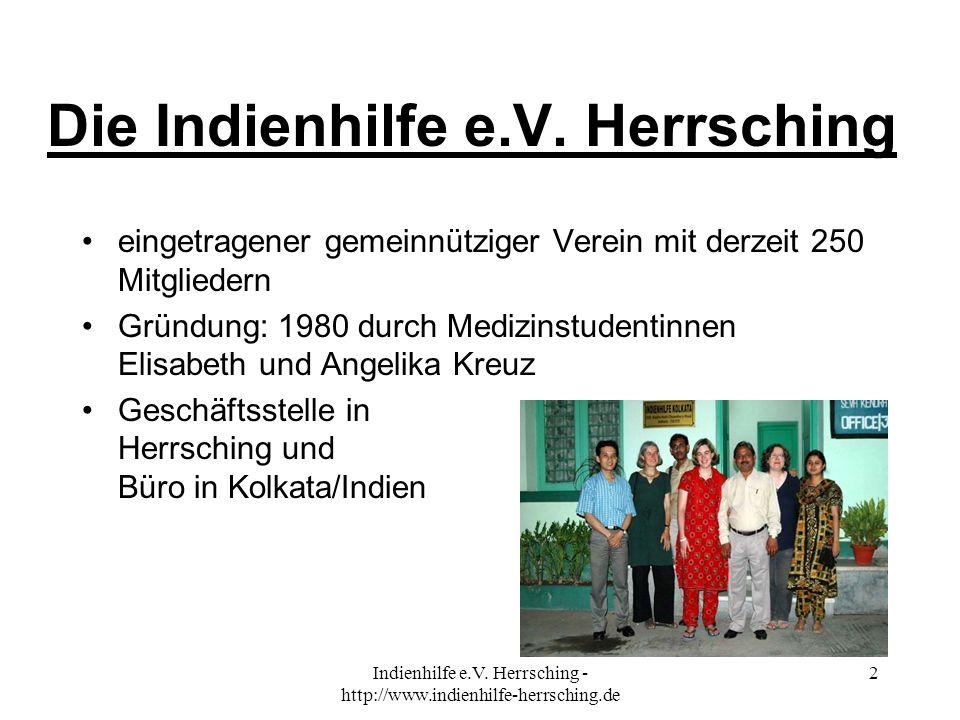 Die Indienhilfe e.V. Herrsching