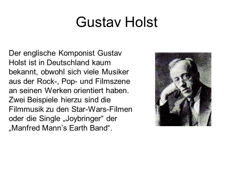 Gustav Holst Der englische Komponist Gustav