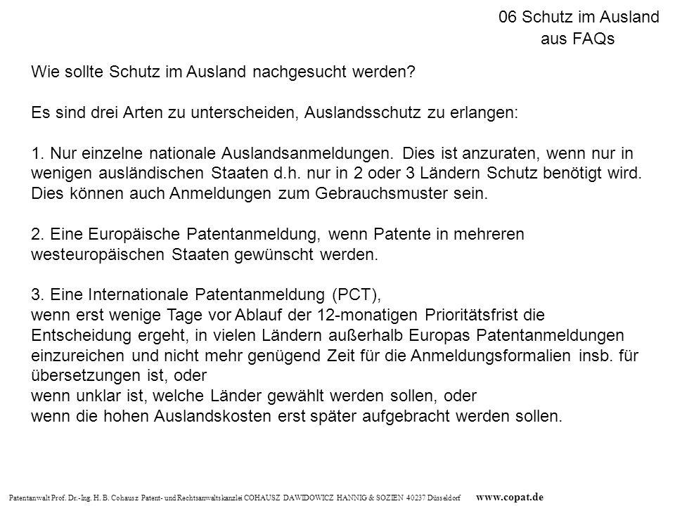 06 Schutz im Ausland aus FAQs. Wie sollte Schutz im Ausland nachgesucht werden